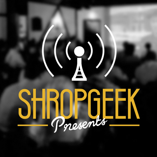 Shropgeek Lettering and Logo Design