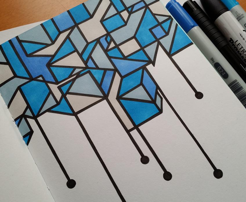 Stina Jones Sketchbook Stuff - 1 2 2015