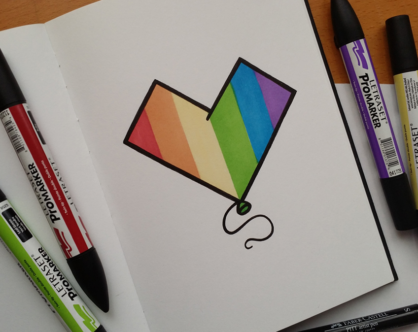 Sketchbook Stuff vol 2 - Rainbow Doodle