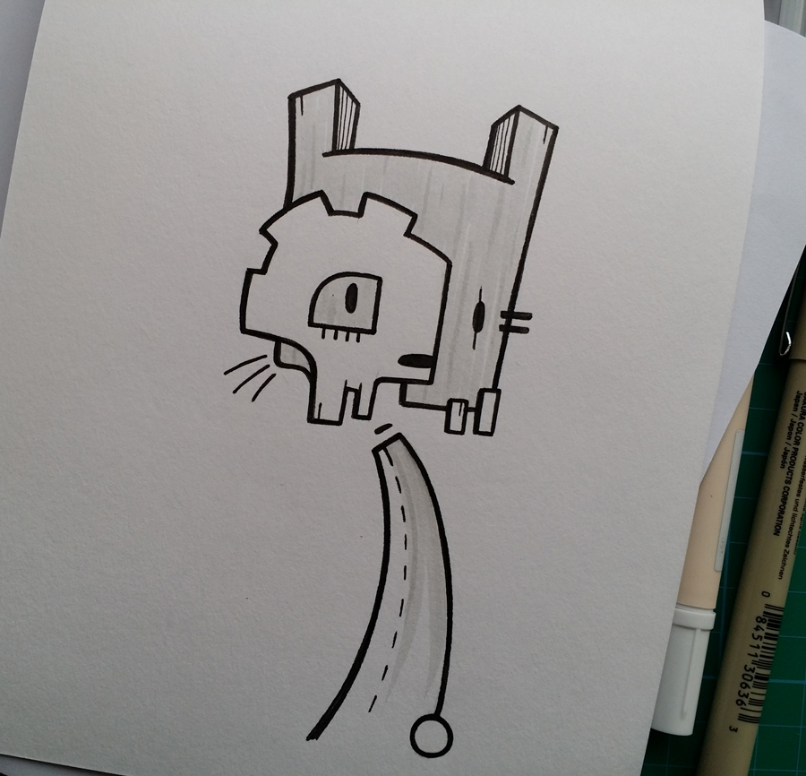 Quick doodle by Stina Jones