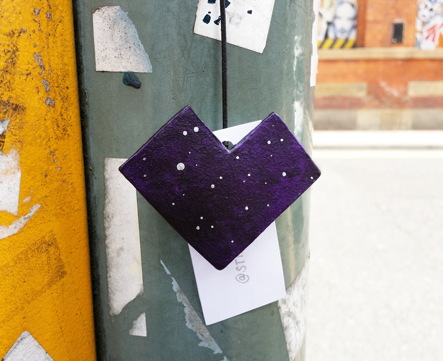 Cosmic Hearts #ArtDrop by Stina Jones