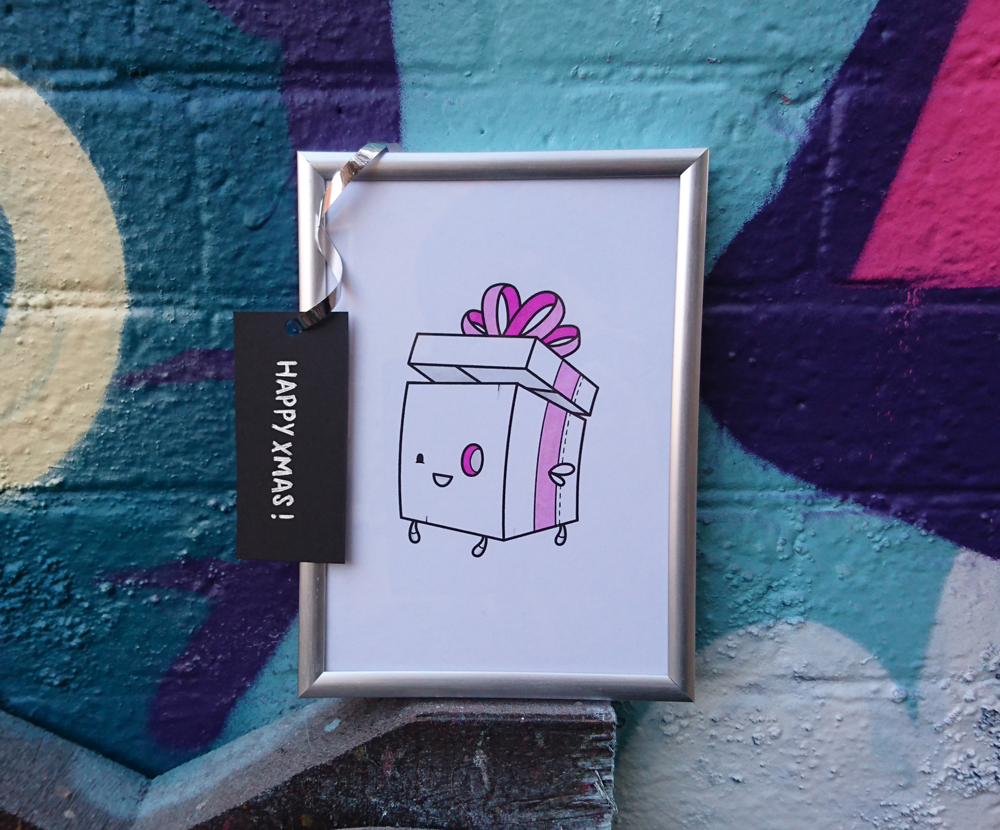 Festive #ArtDrop by Stina Jones