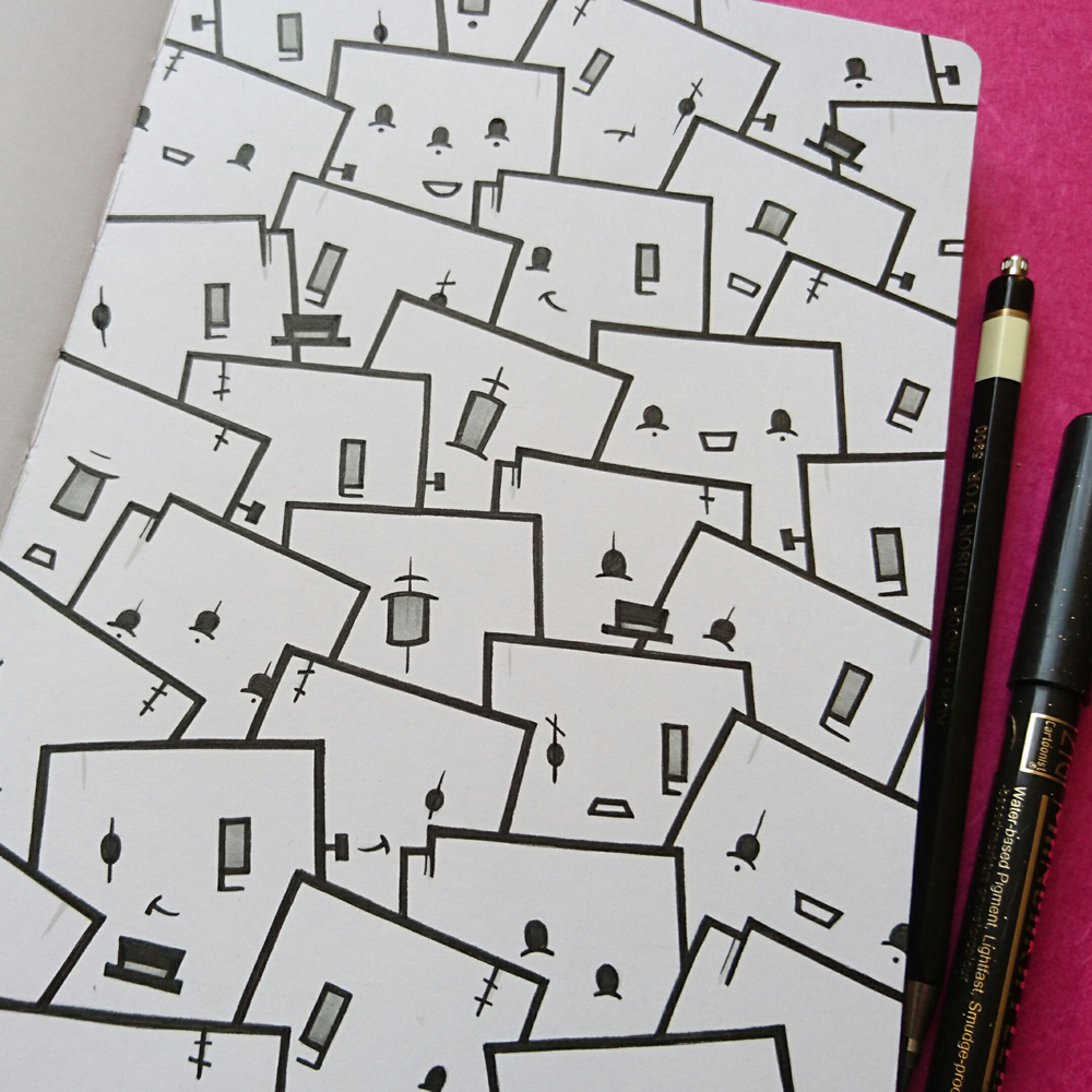 Sketchbook Doodlings by Stina Jones